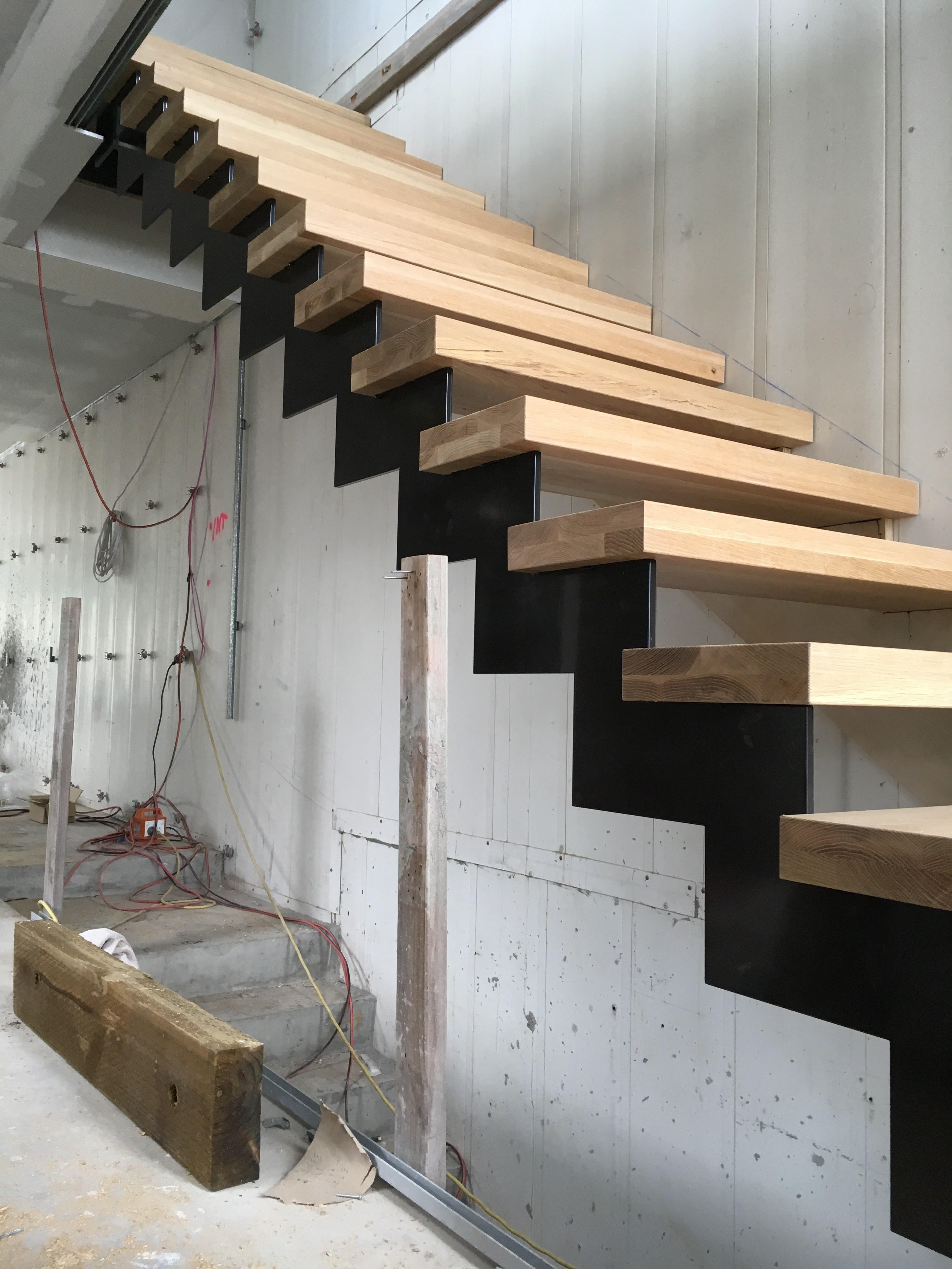 Concrete Timber Staircases