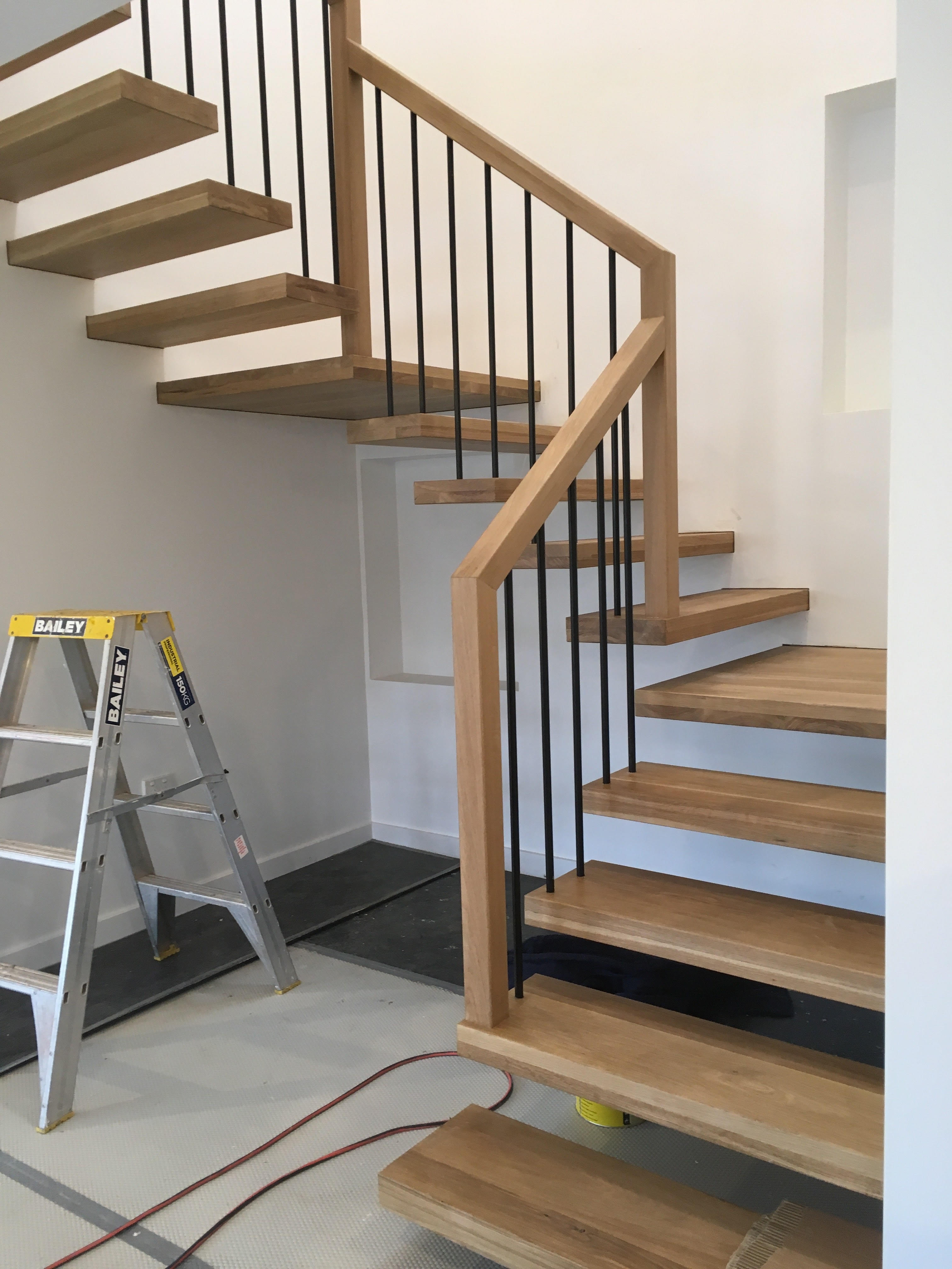 Modern Timber Staircases