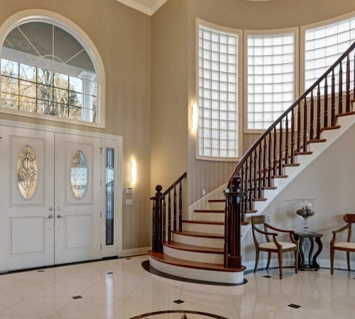 grand architectural staircase